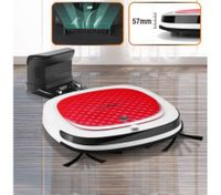 DEEBOT Slim Robotic Vacuum Cleaner--Recharge Floor Sweeper