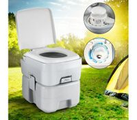 New Flushing System 20L Water Tank Outdoor Portable Toilet