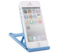 Mobile Stand For Ipad Tablet PCs Mobile Phones Foldable Blue