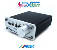 Four And Out Audio Switch Headphone Switch Mp3 Switch Audio Switcher
