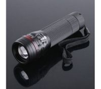 200LM Waterproof CREE LED Flashlight Torch Zoomable 3-Mode