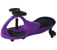 Swing Car Slider Kids Fun Ride On Toy with Foot Mat - Purple