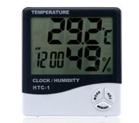 High-Accuracy Lcd Digital Thermometer Hygrometer Electronic Clock