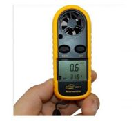 Digital Hand-Held Thermometer Anti-Wrestling Wind Speed Gauge Meter