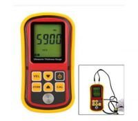 Lcd Digital Ultrasonic Thickness Depth Gauge Tester + Sound Velocity Meter
