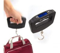 Portable Lcd Digital Fish Hanging Luggage Weight Electronic Hook Scale 10G/50Kg