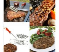 Bbq Meat Branding Iron With Changeable Letters