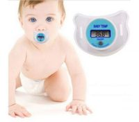 LCD Digital Mouth Nipple Thermometer