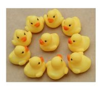 10 pcs Yellow Lovely Rubber Duck Toy For Baby Kid Bath Shower