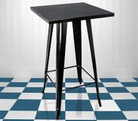 Black Metal-Replica Bar Table