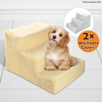 Dog Steps Deluxe with Washable Cover 3 Steps