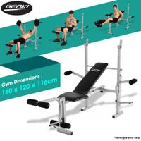 Genki Home Gym Weight Station Bench Press - Multi Level