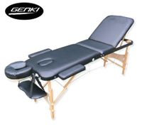 Portable 3-Section Massage Table Chair Bed Foldable &Carry Bag