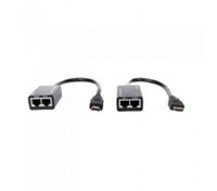 HDMI DVI Extender Extension 1080P Cat5e Cat6 Repeater Cable up to 30M