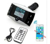 Bluetooth Car Kit FM Transmitter HandsFree Phone MP3 Player SD/MMC/USB + Remote