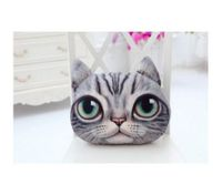 Cartoon 3D Cat Style Plush Pillow / Cushion