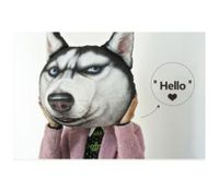 Cartoon 3D Dog Style Plush Pillow / Cushion