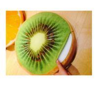 kiwi fruit Cushion Pillow