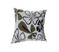 Throw Pillow Cover Cushion Case Pillowcase Black + White