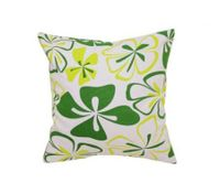 Pillow Cover Cushion Case Pillowcase Green + White