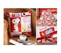 Throw Pillow Cover Cushion Case Pillowcase Snoopy Red