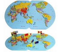 Innovation Map of The World Knowledge Children's Educational Toy Intelligence