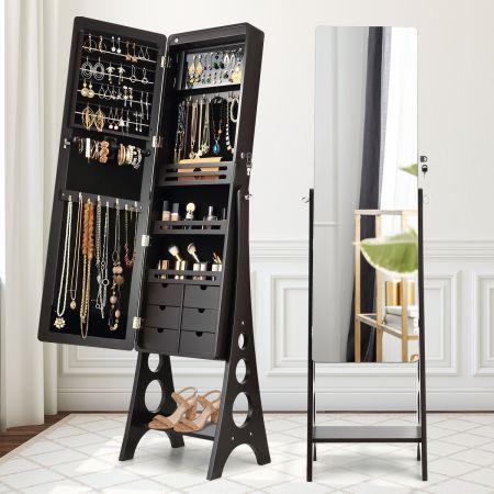 Mirror Jewellery Cabinet Nz, Free Standing Jewellery Mirror Nz