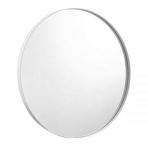 White Large Round Mirror Decorative Wall Mirror 80cm