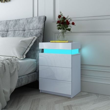Drawer Dresser With Tallboy Nz, White Gloss Bedroom Furniture Nz