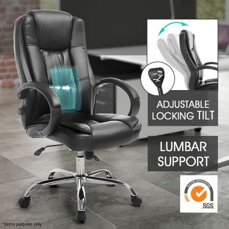 pu leather office computer chair lumbar support home gaming chair