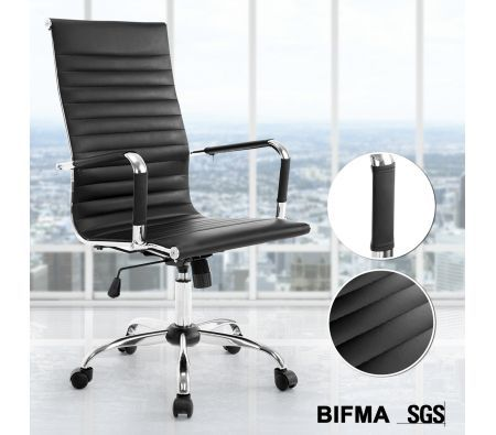 eames replica office chair high back pu computer work chair