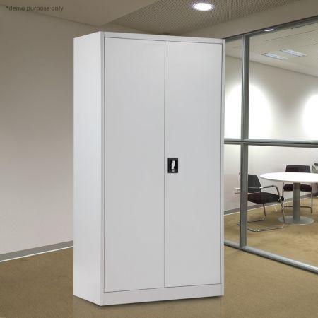 180cm Steel Storage Cabinet & 180cm Steel Storage Cabinet - BestDeals.co.nz